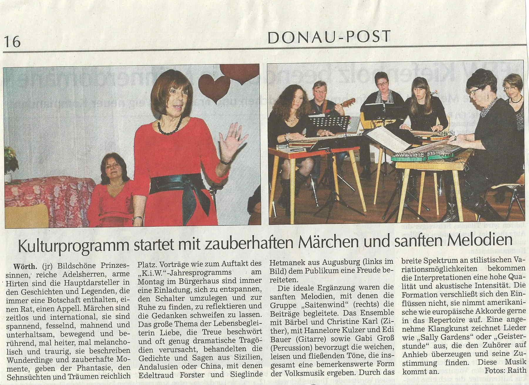 artikel aus der donaupost. Black Bedroom Furniture Sets. Home Design Ideas